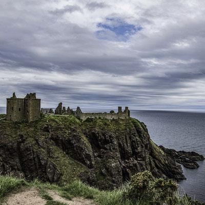 Daunter Castle dalla scogliera