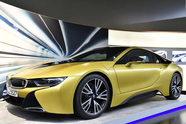 In der BMW-World; Foto: Sabine Mathis