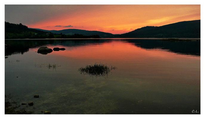 Abendlicht am Schluchsee