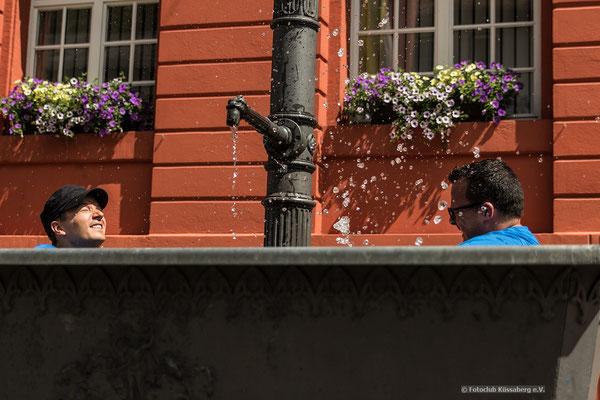 Michaelsbrunnen in Triberg;  Foto: Michael Götz