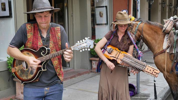 New Orleans-Straßenmusikanten; Foto: Rudi Franck