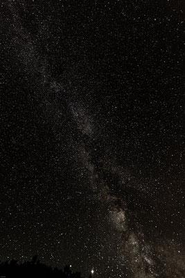 Nachts gegen 2 Uhr in der Bretagne; Foto: Thomas Schulter