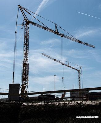 Baustelle in Lauchringen; Foto: Rudi Franck