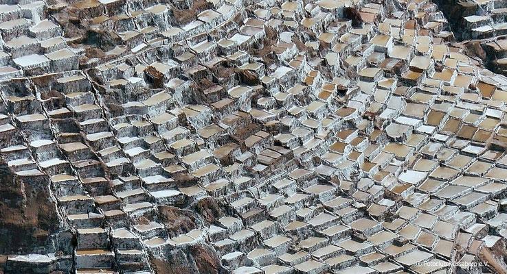 Salzbecken in Peru; Foto: Rudi Franck