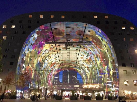 Markthalle in Rotterdam; Foto: Inge Straub