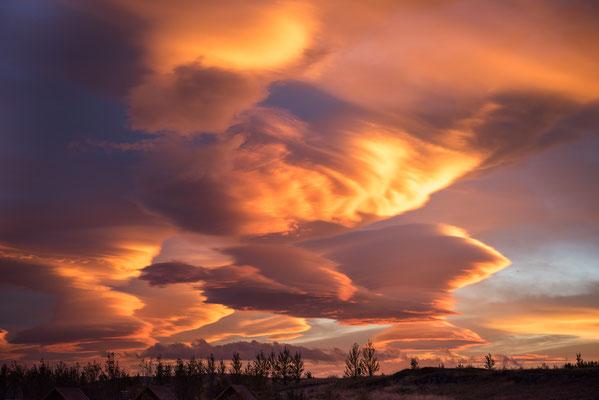 Morgenstimmung nach einer stürmischen Nacht auf Island; Foto: Inge Straub