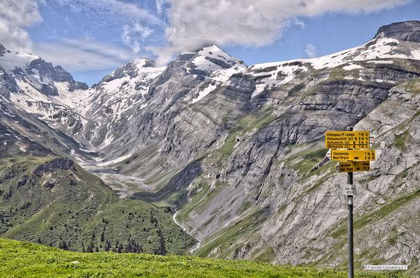 Brigels in Graubünden; Foto: Sabine Mathis