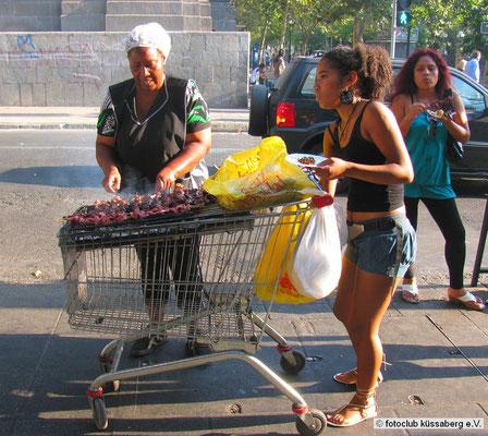 in Santiago; Foto: Gerhard Bach