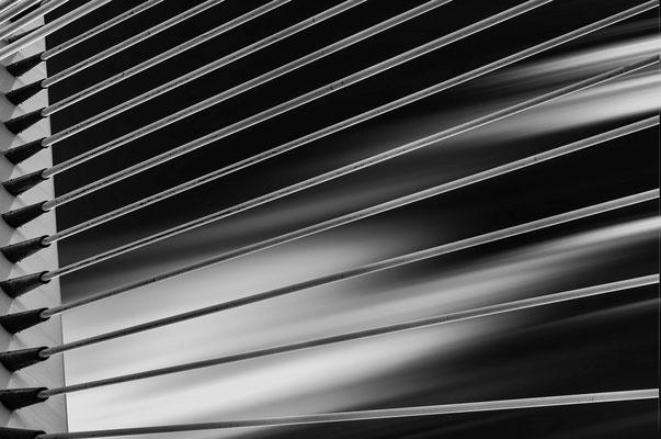 Detail der Erasmusbrücke; Foto: Inge Straub