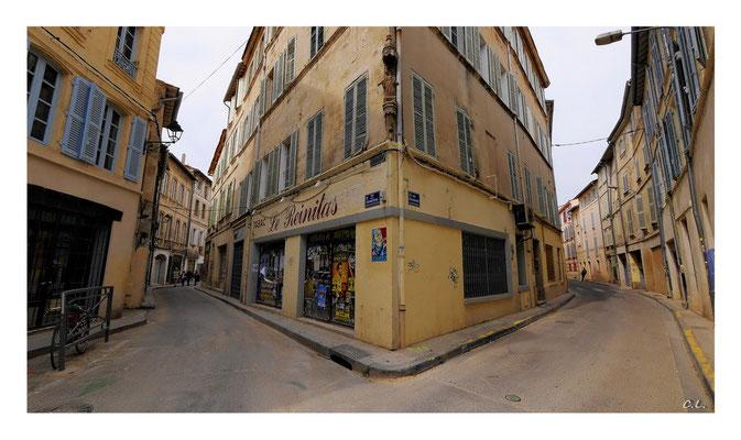 Staßen in Avignon - Provence, Frankreich