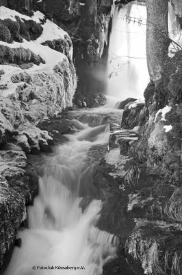 Wasserfall bei Menzenschwand; Foto: Sonja Grambach
