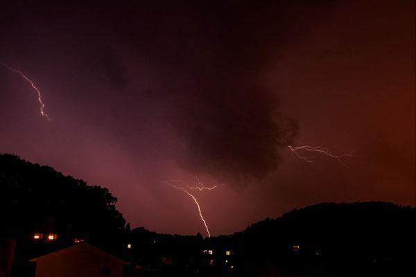 Blitze; Foto: André Rusch