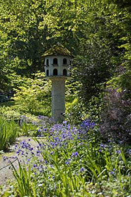 Taubenhaus im Stadtgarten von Freiburg; Foto: Sonja Grambach