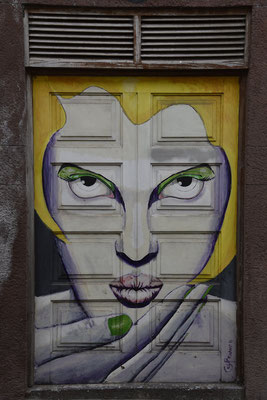 Haustür in Funchal, Madeira;  Foto: Sabine Mathis