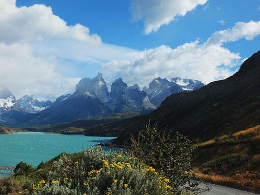 Patagonien, Lago Prehoe; Foto: Gerhard Bach