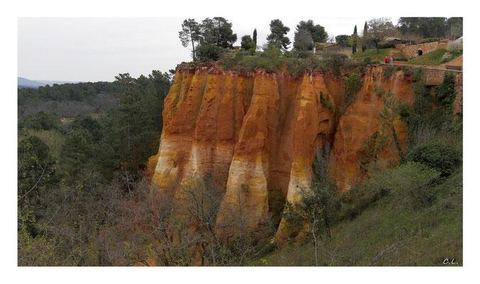 Le sentier des ocres de Rousillon -  Provence, Frankreich