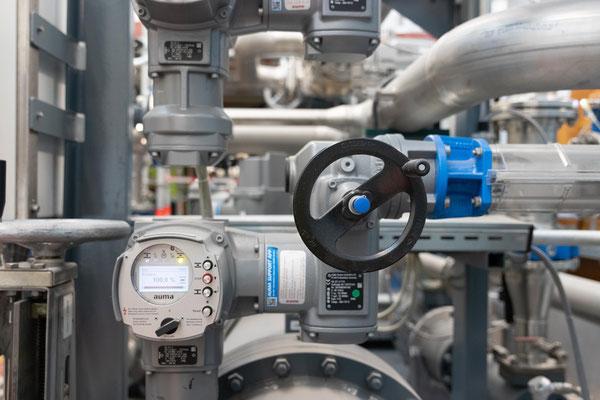 RADAG Steuerungen von Wasserleitungen; Foto: Michael Götz