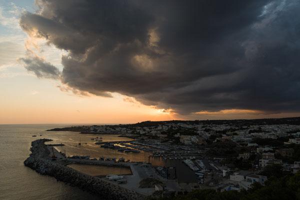 Gewitter über Santa_Maria_di_Leuca, Apulien; Foto: Michael Paiano