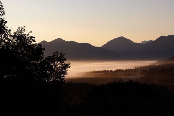 Morgens im Allgäu ; Foto: Michael Götz