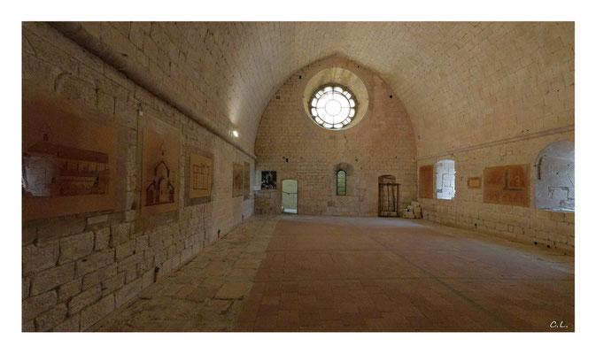 Abtei von Sénanque, der Schlafsaal - Vaucluse, Provence, Frankreich