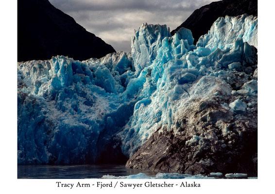 Sawyer-Gletscher in Alaska; Foto: Wolfgang Eigener