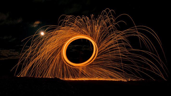Feuerräder; Foto: Thomas Schulter