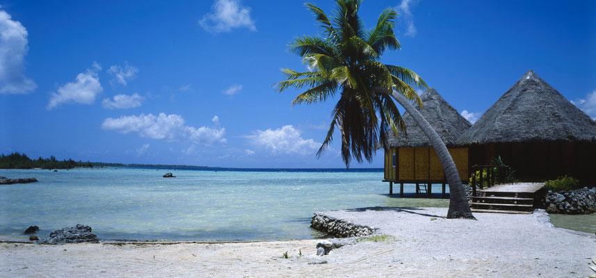 Fakarava-Atoll - frz-Polynesien; Foto: Wolfgang Eigener