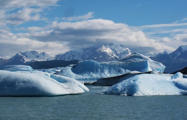 Upsala Gletscher, Argentinien; Foto: Gerhard Bach