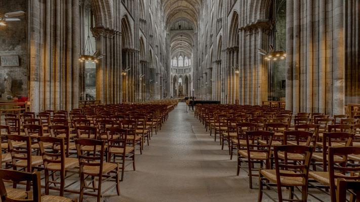 In der Kathedrale von Rouen; Foto: Iris Blümling