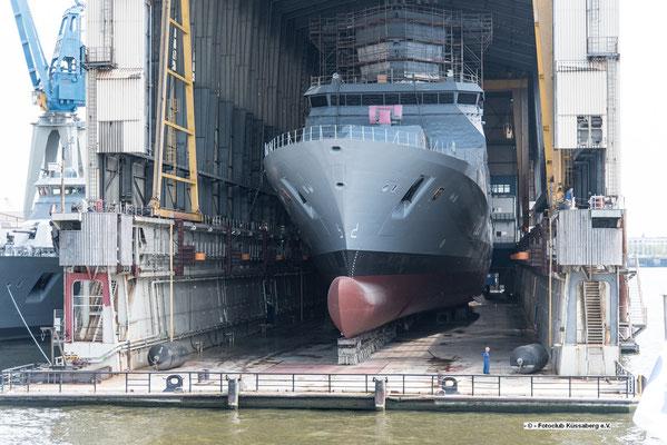 Werft in Hamburg; Foto: Rudi Franck