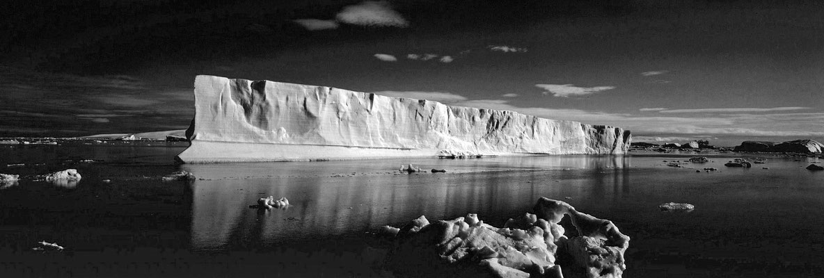 Eisberg in der Antarktis; Foto: Wolfgang Eigener