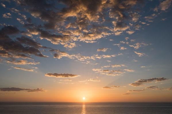 Corralejo, Fuerteventura, Sonnenaufgang; ; Foto: Werner Beermann