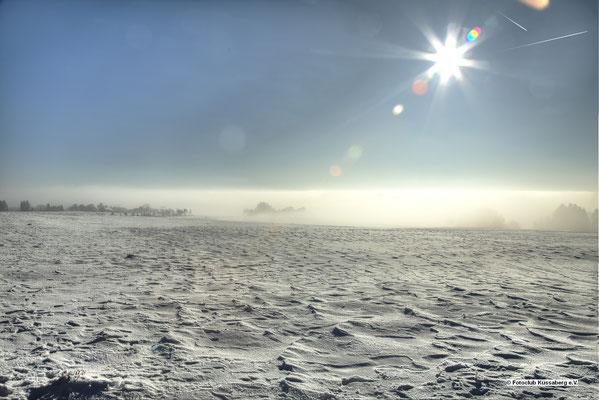 Schneefeld in riedern; Foto: Thomas Schulter