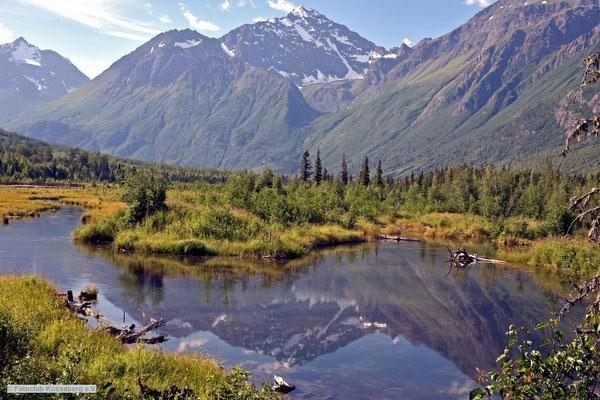 Eagle River in Alaska; Foto: Rudi Franck