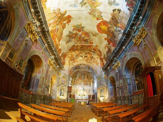Kirche San Martino in Castello bei Lugano; Foto: Gast Peter Draemann