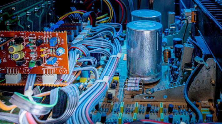 100 Watt-Verstärker; Foto: Thomas Schulter