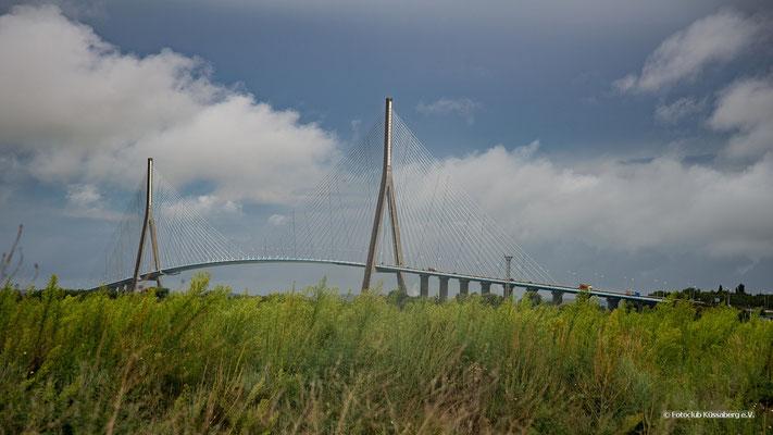 Brücke in der Normandie; Foto: Iris Blümling