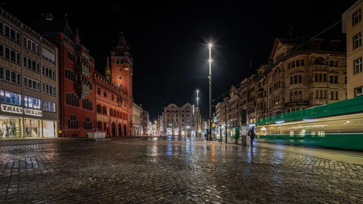 Marktplatz in Basel; Foto: Iris Blümling