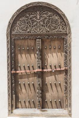 Indische Tür, Sansibar, Tansania; Foto: Thomas Schulter