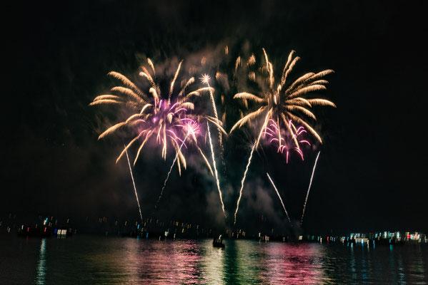 Feuerwerk beim Konstanzer Seenachtsfest