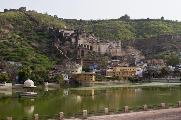 Palast von Bundi, Rajasthan, Indien; Foto: Wolfgang Eigener
