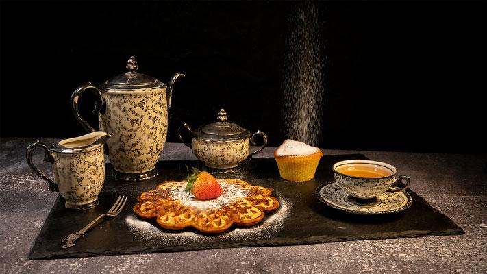 high tea ceremony; Foto: Iris Blümling