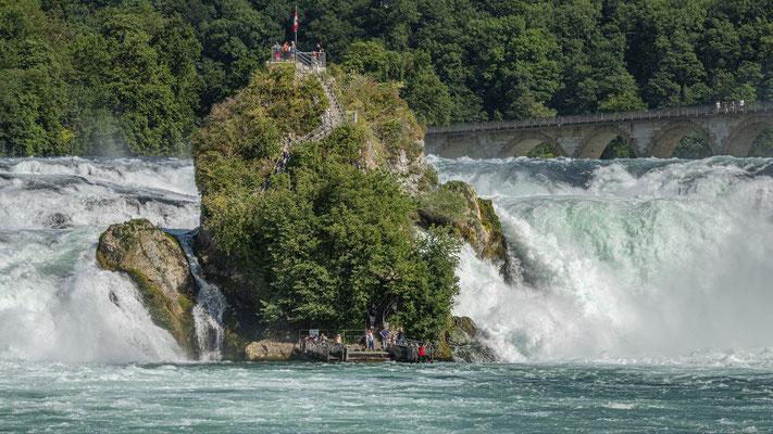 Rheinfall Neuhausen; Foto: Ernst Ostertag
