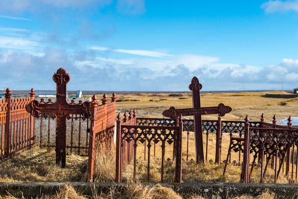 Friedhof in Island; Foto: Inge Straub