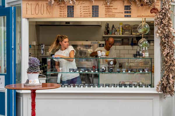 Bäckerei St. Helier Jersey; Foto: Ernst Ostertag