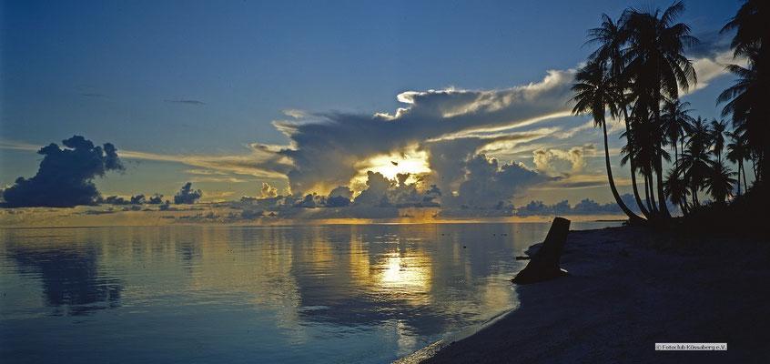 Atoll-Rangiroa - frz.Polynesien; Foto: Wolfgang Eigener