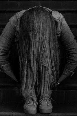 Portrait mit Haaren; Foto: Sonja Grambach