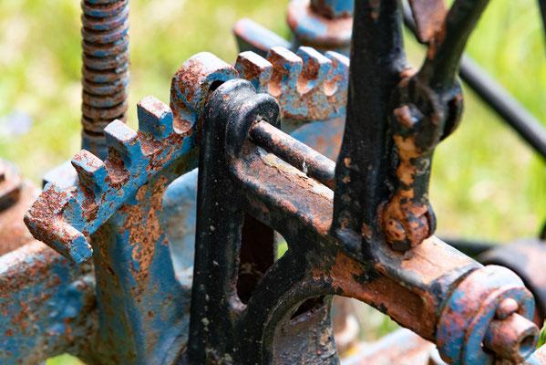 Alte Landmaschine; Foto: Rudi Franck