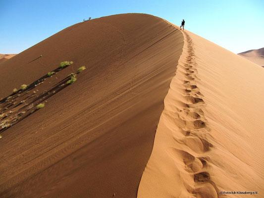Düne in Namibia; Foto: Thomas Schulter