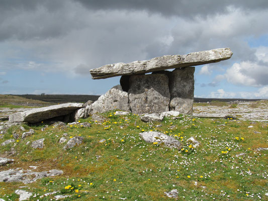 Poulnabrone Dolmen, Irland